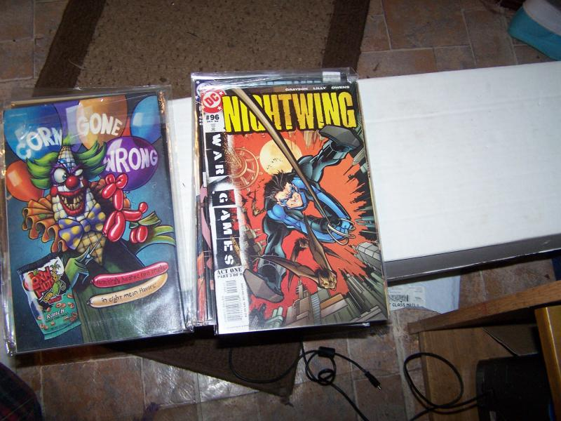 NIGHTWING  # 96 20042 DC COMICS BATMAN  DICK GRAYSON  war games act 1 pt 3