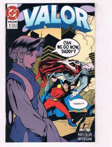 Valor #9 VF/NM DC Comics Modern Age Comic Book JLA Fleming Jul 1993 DE47 AD33