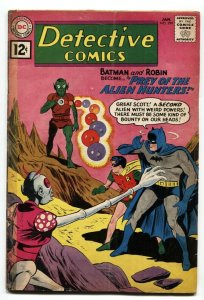 Detective Comics #299 comic book 1962 Batman- DC Silver Age- Alien Hunters G/VG