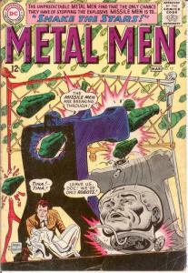 METAL MEN 12 G-VG March 1965 COMICS BOOK