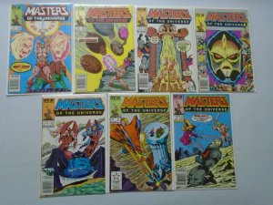 Masters of the Universe Lot #1-6,9 7 Different Books 6.0 FN (1986+1987)
