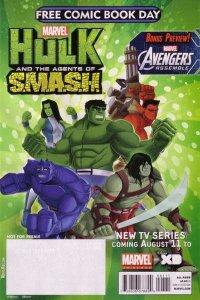 Free Comic Book Day 2013: Avengers/Hulk #1, NM (Stock photo)