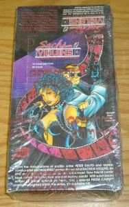 Sachs & Violens sealed box of cards - 48 packs - george perez/peter david