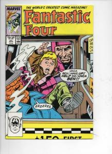 FANTASTIC FOUR #301 NM- Thing, Buscema, 1961 1987 Marvel, more FF in store
