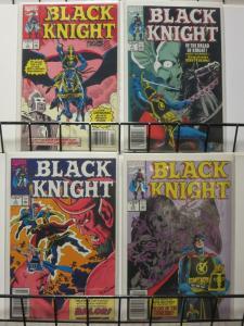 BLACK KNIGHT (1990) 1-4 4-ISSUE MINI-SERIES COMPLETE