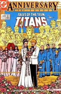 Tales of the Teen Titans #50, VF- (Stock photo)