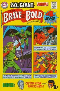 Brave and the Bold, The Annual #1 VF/NM; DC   save on shipping - details inside