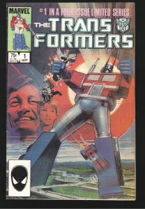 TRANSFORMERS 1 F/VF 7.0;1st APPEARANCE,ORIGIN AND 1ST OPTIMUS PRIME!