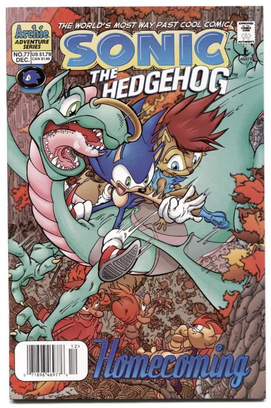 SONIC THE HEDGEHOG #77 1999-ARCHIE COMICS-SEGA