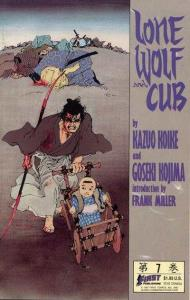 Lone Wolf and Cub (1987 series) #7, NM- (Stock photo)