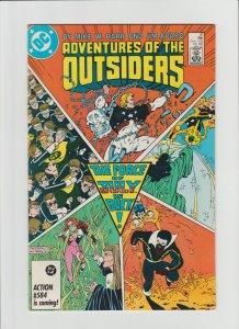 Adventures of the Outsiders #41 VF+ (1987, DC Comics) Jim Aparo Art!