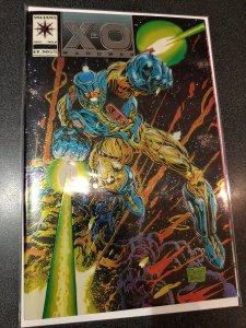 X-O MANOWAR #0 CHROMIUM COVER