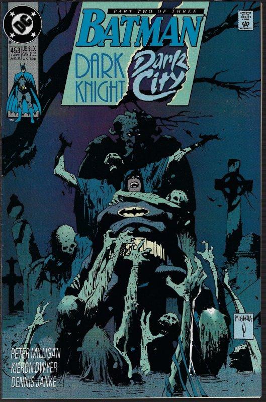 Batman #453 (DC, 1990) NM