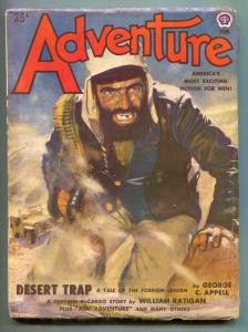 Adventure Pulp February 1950- Captain McCargo