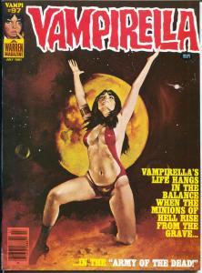 Vampirella #97 1981-horror-Army Of The Dead-FN-