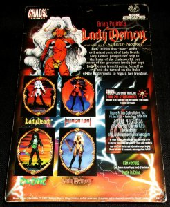 Brian Pulido's Lady Demon Action Figure by Clayburn Moore (Chaos, 1997)