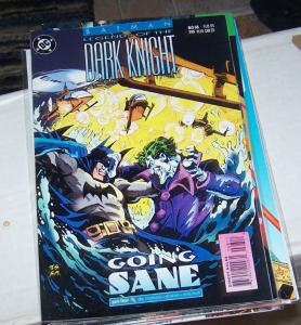 Batman: Legends of the Dark Knight #68 (Feb 1995, DC) joker going sane pt 4