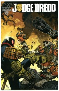JUDGE DREDD #3 A, NM, IDW,  2012, Sci-fi, Police, I am the Law, more in store