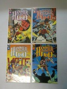 Hammer of God set #1-4 8.0 VF (1990 First Publishing)