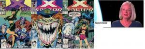 X FACTOR 29-31  L & W Simonson  1st app INFECTIA !