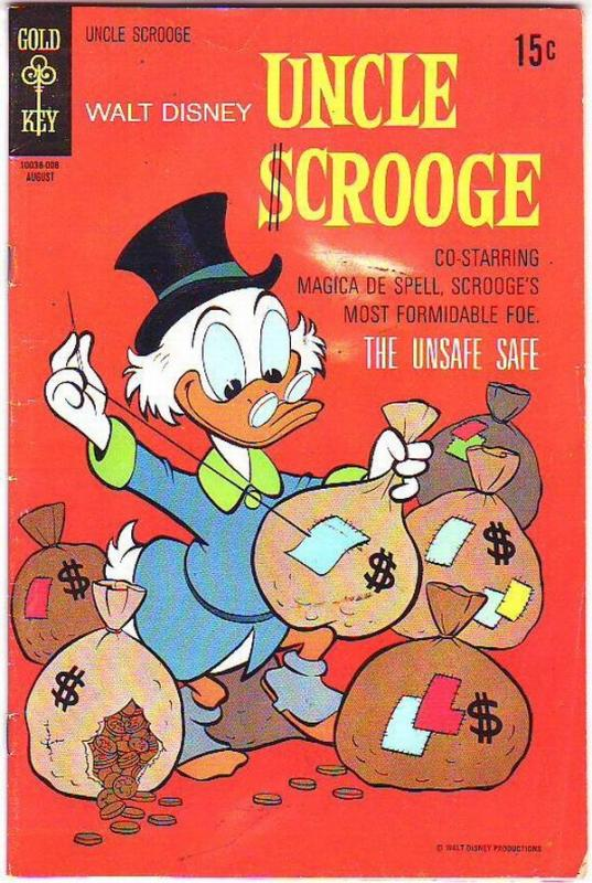 Uncle Scrooge, Walt Disney #88 (Aug-70) FN Mid-Grade Uncle Scrooge