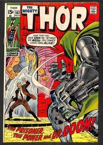Thor #182  Dr. Doom! Marvel Comics