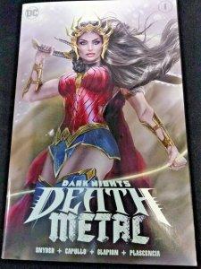 Dark Nights Death Metal #1 Natali Sanders Variant KRS Comics Wonder Woman Cover