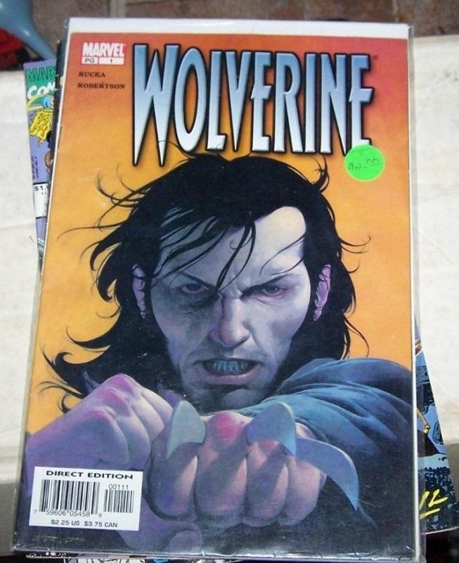 WOLVERINE #1 Jul 2003, Marvel  x men logan