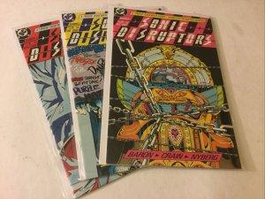 Sonic Disruptors 1 3 4 Near Mint DC Comics