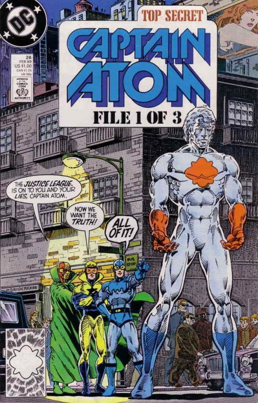 Captain Atom (DC) #26 VF/NM; DC | save on shipping - details inside