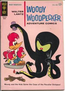 Woody Woodpecker #79 1964-Gold Key-octopus cover-Adventure Comics-FN