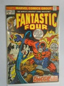 Fantastic Four #132 featuring Medusa 3.0 GD VG (1973 1st Series)