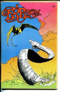 ERB-Dom  #69 1973-Edgar Rice Burroughs fanzine-Tarzan-John Carter-FN