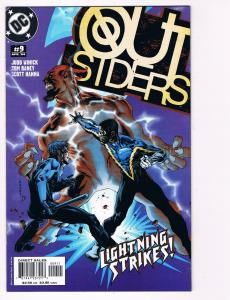 Outsiders # 9 DC Comic Books Awesome Issue Modern Age NIghtwing Metamorpho!! S24