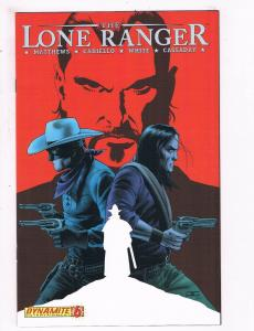The Lone Ranger # 6 VF Dynamite Entertainment Comics Awesome Issue Western!! SW5
