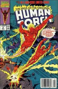 Marvel THE SAGA OF THE ORIGINAL HUMAN TORCH #2 NM-