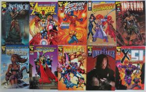 Wizard #0 - 10 Comics Book Undertaker Slingers Captain Marvel Avengers Ultron ++