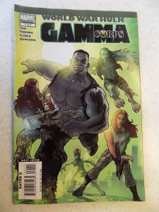 WORLD WAR HULK GAMMA CORPS # 1