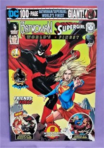 Wal-Mart Exclusive BATWOMAN / SUPERGIRL WORLD'S FINEST Giant #1 (DC, 2019)
