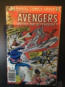 The Avengers Annual #11 (1982)
