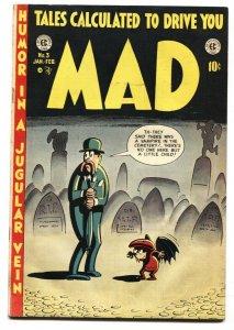 MAD #3-1953-EC COMICS-HARVEY KURTZMAN-WALLY WOOD-VG+