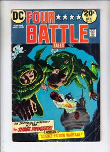 Four Star Battle Tales #5 (Dec-73) VG Affordable-Grade The Three Frogmen