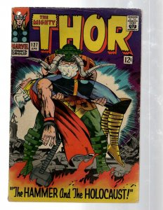 Mighty Thor # 127 VG- Marvel Comic Book Loki Odin Asgard Sif Avengers Hulk RB8