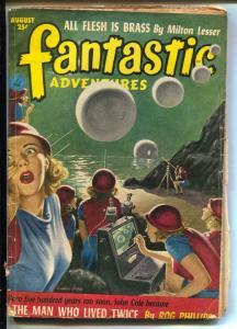 Fantastic Adventures-Pulp-8/1952-Rog Phillips-Milton Lesser