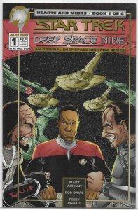 Star Trek: Deep Space Nine -- Hearts and Minds #1 of 4 FN (1994 Malibu)