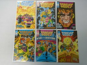 Forever People set #1-6 8.0 VF (1988 2nd Series)
