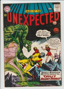 Tales of the Unexpected #75 (Mar-63) FN/VF Mid-High-Grade Space Ranger, Cyrl