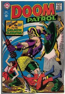 DOOM PATROL 116 VG+ Dec. 1967