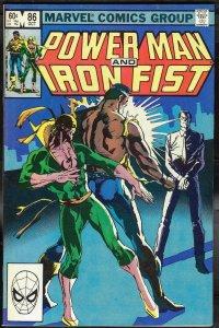 Power Man & Iron Fist 86 NM 9.4 Uncertified Marvel 1982 FREE SHIP