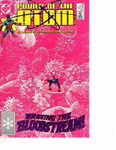Lot Of 2 Comic Books DC Power of the Atom #13 and Blackhawk #263 Batman WT21